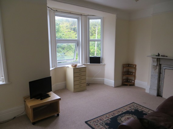 First floor flat living room