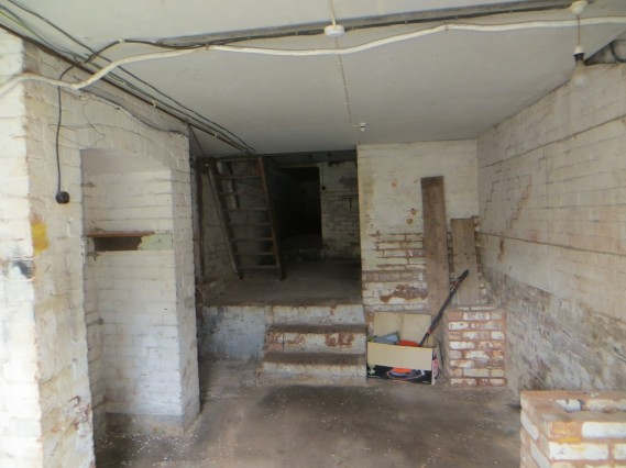 Ground floor flat basement
