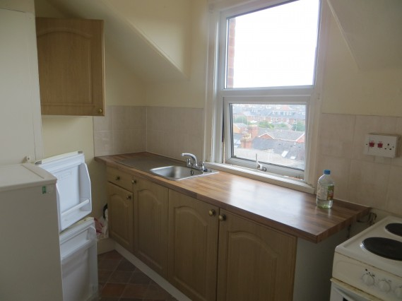 Top floor flat kitchen